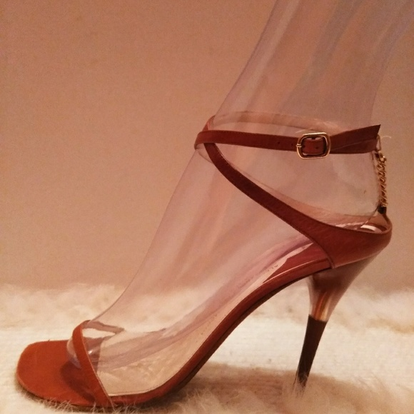 10 Open Heels High Toe Leather Italian ID9WEH2